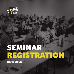sTARTUp DAY seminar registration