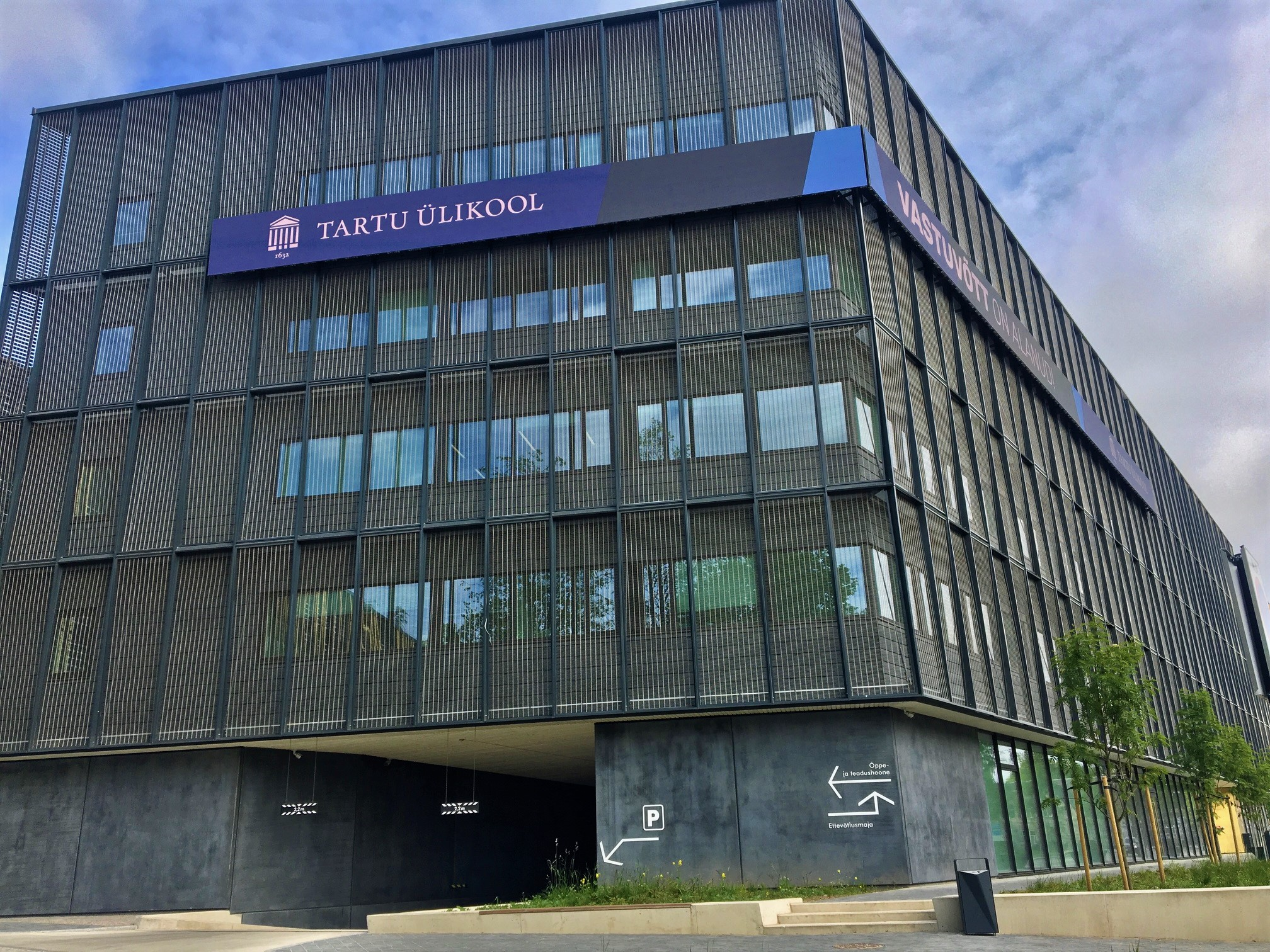 University of Tartu Delta Centre Business Building