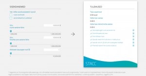 STACCi tasuvuskalkulaator
